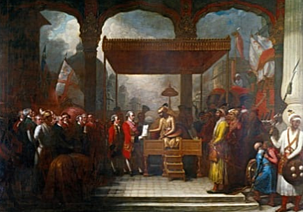 The East India Company was formed