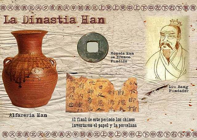 LA DINASTÍA HAN (202 a. C. -220 d. C.)