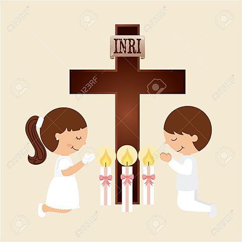 Adriana's first Communion