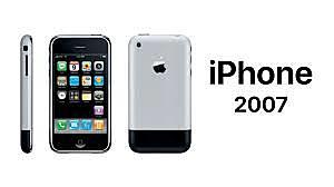 Steve Jobs lanza el iPhone