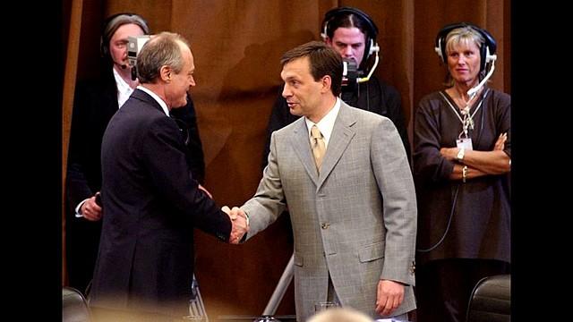 Medgyessy Péter és Orbán Viktor vitája