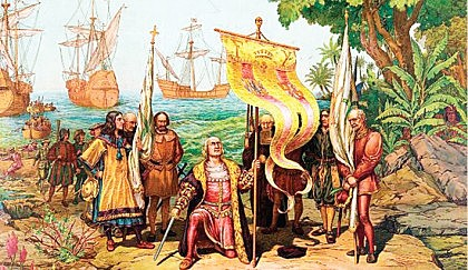 Christopher Columbus reached the Americas.