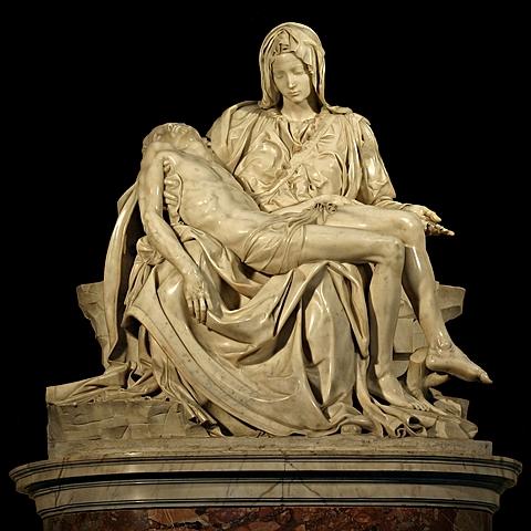 Michelangelo sculpted the Pieta.
