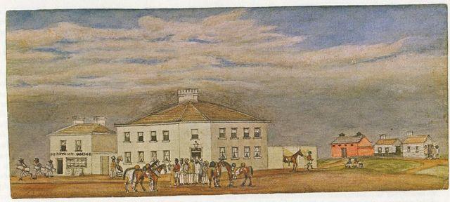 Settlement of Melbourne developing