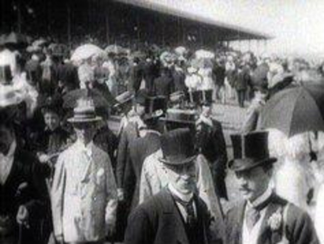 First Melbourne cup