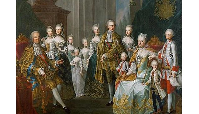 The Hapsburg family was the most powerful family in Europe.