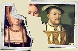 Henry VIII broke from the Church in Rome and divorced his wife.