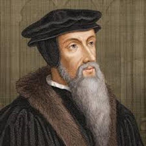John Calvin developed the idea of predestination.
