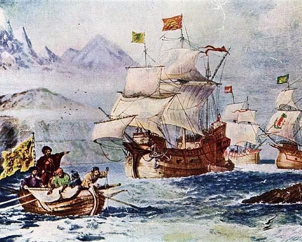 Ferdinand Magellan's crew was the first to circumnavigate the globe.