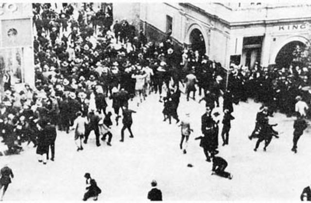 Police strike