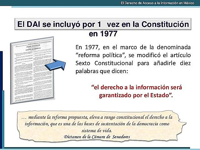 DERECHO DE ACCESO A LA INFORMACIÓN (DAI)