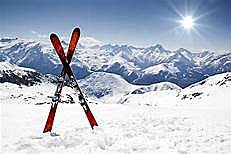 I learned how to ski