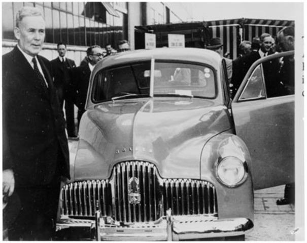 First Australian made car