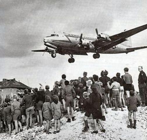 Beginn der Blockade von Berlin