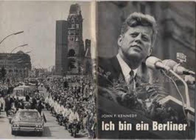 Kennedy: Ich bin ein Berliner