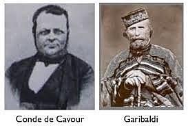 G. Garibaldi y Cavour (Italia)