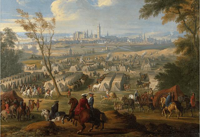 3ª Guerra contra Francia. Invasión francesa en Cataluña en 1691