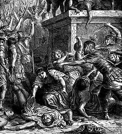 Nika riots in Constantinople