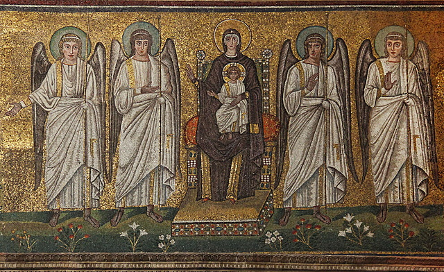 Sant'Appolinare reconsecrated by Justinian