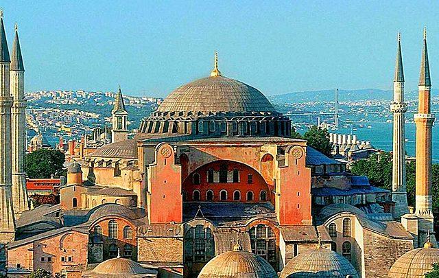 The Church of Hagia Sophia