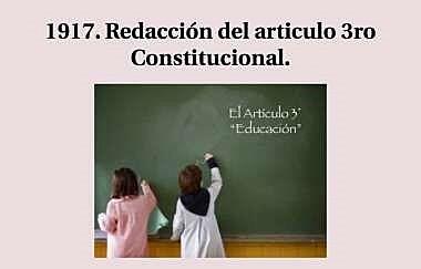 La promulgación de la Constitución Política de los Estados Unidos Mexicanos de 1917
