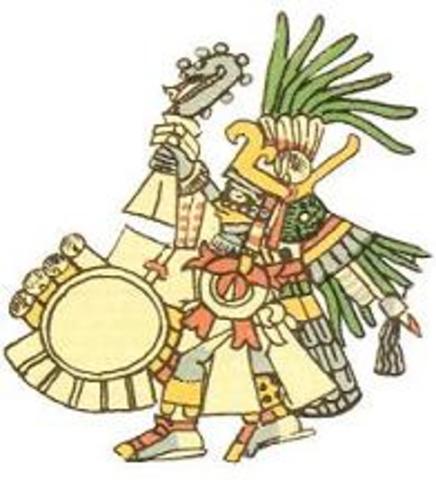 1500s.  Aztecas
