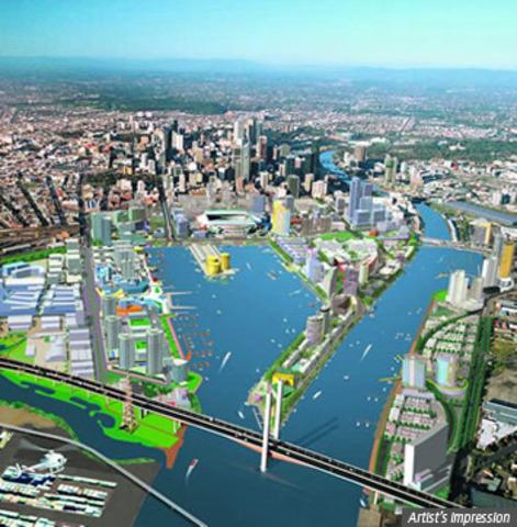 Docklands completion