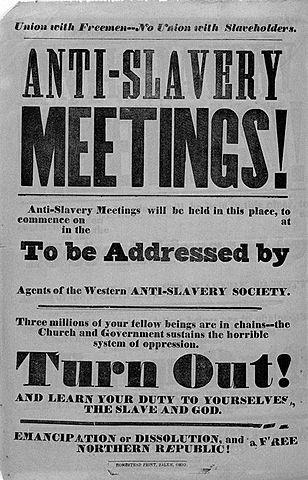American Anti- Slavery Society