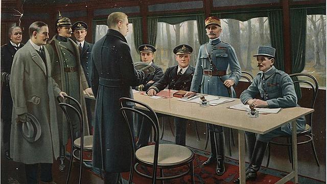 Se firma el Armisticio