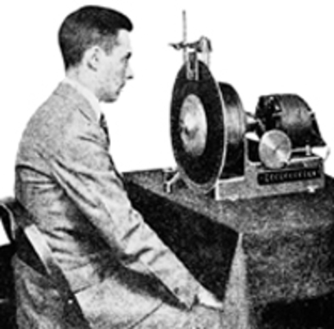 Televisión - Disco de Nipkow