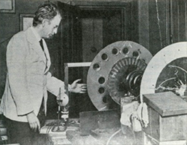 Sistema de televisión inventada por John Logie en Escocia