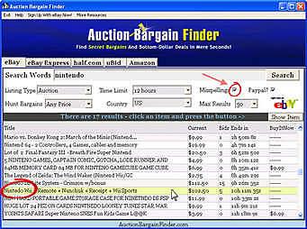 Surge Bargain Finder