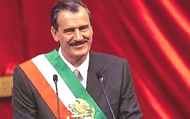 Transición a la democracia (triunfo de Vicente Fox)