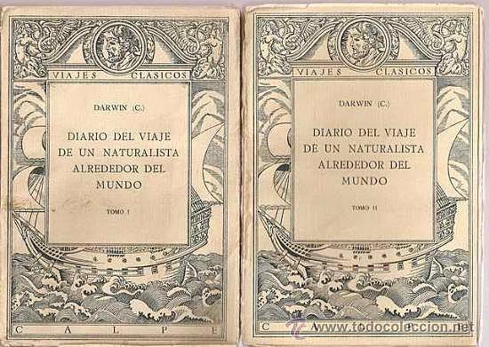 Darwin publica su obra Diario del viaje del Beagle
