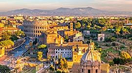 Roma dalle origini fino al II secolo D.C. timeline