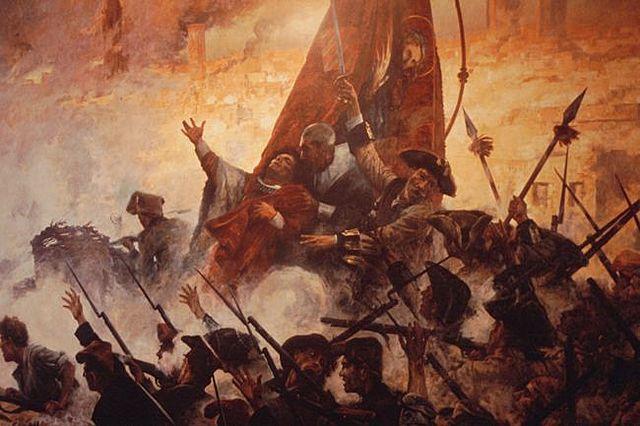 3a Guerra contra Francia. Invasión francesa en Cataluña en 1691.