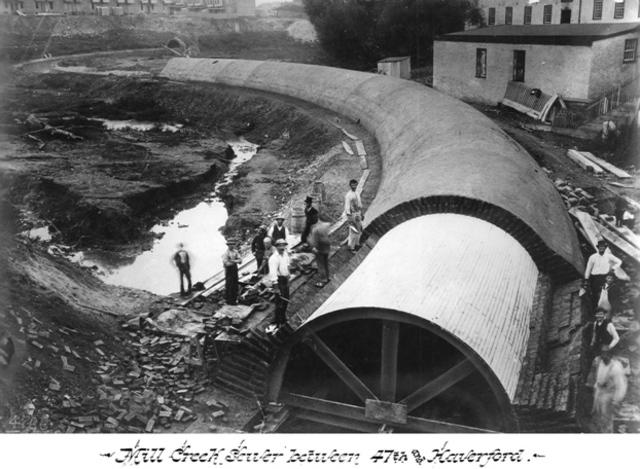 Under ground drain