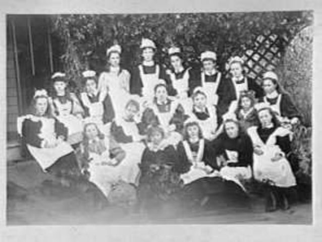 Servants in Melbourne