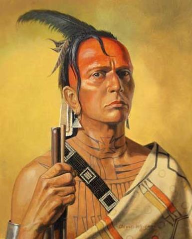 Cherokee Indians help Army