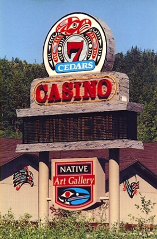 State recognition to Indians and first Indian Casino built