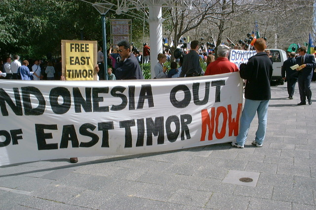 Role in East Timor