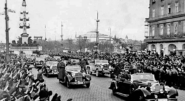 Invasión de Alemania nazi a Austria