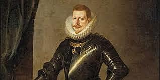 Hereda el trono Felipe III.