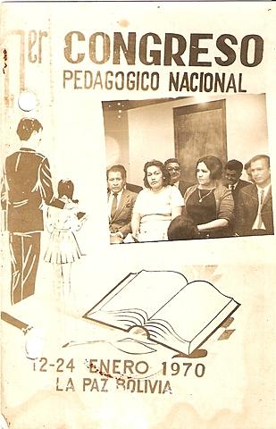 I  Congreso Pedagógico Nacional