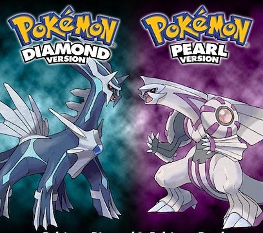 Pokemon Diamante y Perla.