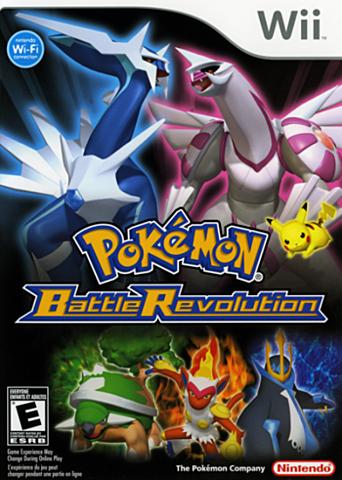 Pokemon BattleRevolution.