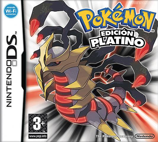 Pokemon Platino.