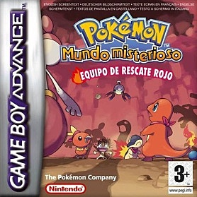 Pokemon Mundo Misterioso: Equipo de Rescate Rojo y Azul.