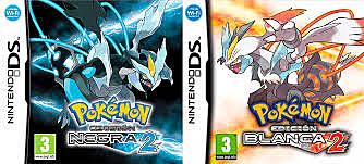 Pokemon Negro 2 y Blanco 2.