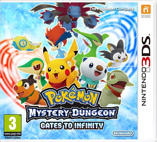 Pokemon Mundo Misterioso: Portales al Infinito.
